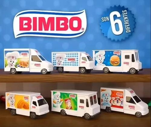 Camioncitos Bimbo 2019 Colección Completa