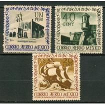 Sc C111-c113 Año 1940 Mnh 400 Anv De La Fundacion De Campech