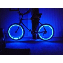 Tapon De Pivote Válvula Aire Bicicleta Carro Moto Luz Led Df