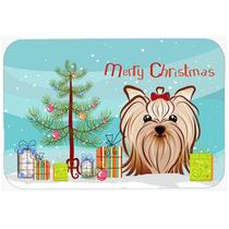 Árbol De Navidad Y De Yorkie Terrier Yorkishire Cocina O Ba