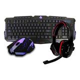 Kit Gamer Eagle Warrior Tec-mou-diad G16 G79 Y Hs501 Ew