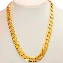Cadena Barbada De Oro Macizo 14k 50cm. Pesa 30grs Solid Gold