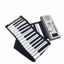 Teclado Midi Flexible Piano De 61 Teclas Audifonos Musica