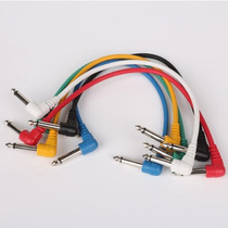 Cables Para Pedales De Guitarra, Parcheo Pedalera Excelente