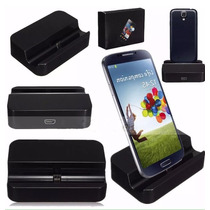 Cargador Usb Base Dock Samsung Lg Htc Negro Nuevo