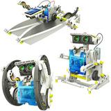 Robot Solar Armable Recargable 13 Robots En 1 Tierra Y Agua