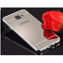 Funda Bumper Galaxy A5 2016 Samsung Aluminio Mica Espejo