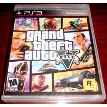 Videojuego Grand Theft Auto V Gta 5 Ps3 Nuevo Sellado