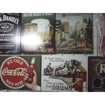 25 Posters Metalicos Tipo Antiguo Vintage Retro En Lamina