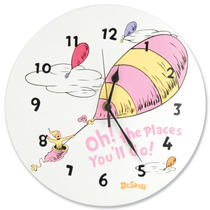 Trend Lab Dr.seuss Wall Clock Oh! The Places You
