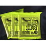 3 Sets Ernie Ball 2221 Cuerdas Regular Slinky 10-46 Guitarra