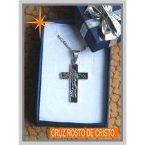 Dije De Plata Rostro De Cristo