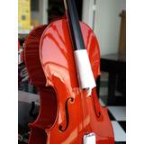 Violincello 4/4 Arco Y Funda