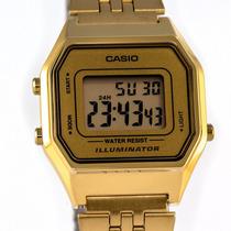 ecf51aabe99d Reloj Casio Dama Vintage La680 Dorado Original en venta en ...