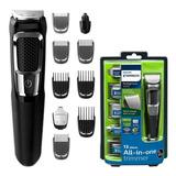 Máquina Philips Norelco Rasuradora Terminadora Barba Nariz Y Oídos Con Envío Gratuito Full