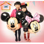 Globo Mickey Mouse Y Minnie Mouse, Gigante.mimi, Dysneip