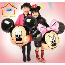 Globo Mickey Mouse Y Minnie Mouse, Gigante.mimi, Dysneip