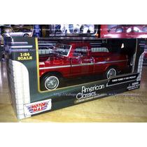1:24 Ford F100 Pick Up 1969 Rojo Motor Max C Caja