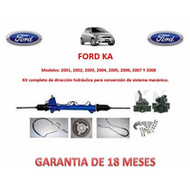 Kit Direccion Hidráulico Completo Original Ford Ka 2001,2002