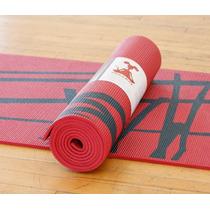 Mat De Yoga * Yoga Rat* Kyoto Rojo Extra-grueso 6 Mm