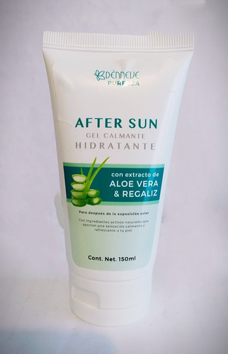 Aloe Vera Y Regaliz Gel Calmante After Sun Exposición Solar