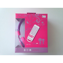 Audifonos Diadema Aisladores Baby Morado/rosa