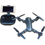 Drone Plegable  Con Fpv Video  Camara Wifi Gran Tiempo Vuelo