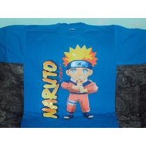 Playera Anime Naruto Anime Talla L One Piece Seiya Sailor Mo