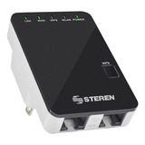 Access Point/repetidor Steren Com-818 Negro 110v