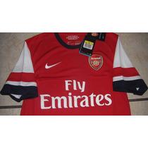 Jersey Nike Arsenal De Inglaterra Visita 2014 100% Original