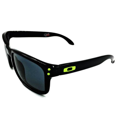 ddf10a259f Oakley Oo9102 18 Holbrook Negro Verde Polarizado +metal Case