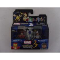 Minimates Marvel Vs Capcom 3: Ironman Vs Arthur