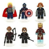 Set Thor De Super Heroes Lego 6 Diferentes Figuras