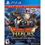 Dragon Quest Heroes Disco Fisico  Nuevo Sellado Para Ps4
