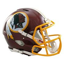 Nfl Washington Redskins Auténtico Casco De Fútbol Americano