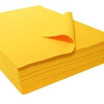 9 X 12 1027 Hojas De Acrílico De Fieltro - 25 Pc Amarillas