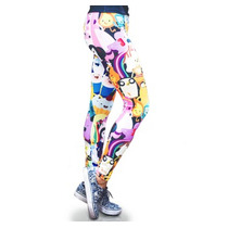 Adventure Time Legging Mascara De Latex Mujer