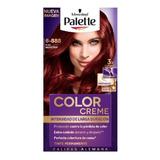 Tinte Palette Color Creme 6-888 Rubí Seductor