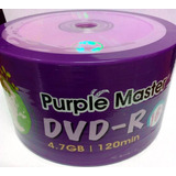50 Dvd Max Virgen Varios Colores  Logo 4.7 Gb Facturado Full