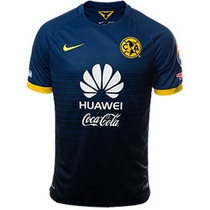 Jersey Club América Visita 2016 Playera Aguilas Azul Marino