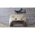 Wii Controller Classic Pro Gold (compatible Con Wii/wii U)