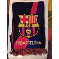 Bufanda Fc Barcelona Barza Producto Oficial Original