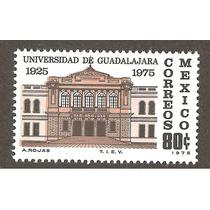 México Estampilla Universidad Guadalajara 1975 Mn4