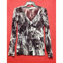 Blusa Calvin Klein Transparente Animal Print Ideal Playa