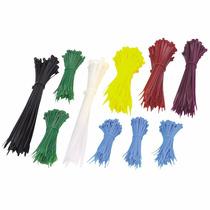 Cinchos De Plástico 1000 Pzs 7 Colores Envío Gratis