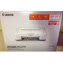 Impresora Canon Pixma Mg2510 Escanea Copia Blanconegro Color