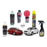 Kit De Limpieza Para Nissan Versa 2017 Shampoo Con Cera