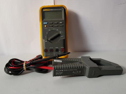 Multimetro Fluke 87 Iii Con Amperimetro Y Puntas Genericas