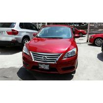 Nissan Sentra Sense Tm Rojo Tinto 2014