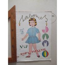 Antigua Revista De Moldes,patrones Jam 1959